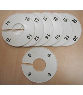Size Divider Round - Numbered