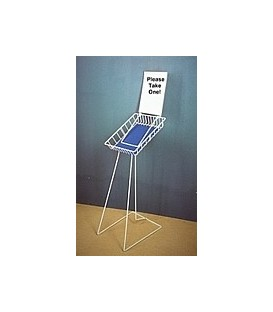 Catalogue Display Stand A4 with Sign Holder