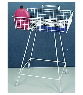 Dump Basket - Wire - on Stand