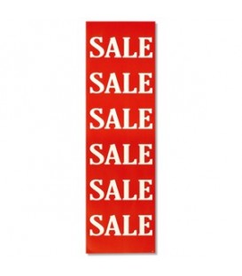 Banner: SALE SALE SALE - White on Red
