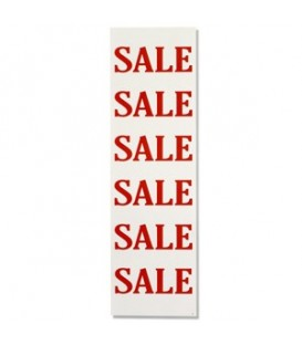 Banner: SALE SALE SALE - Red on White