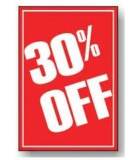 Sale Card: 30% OFF