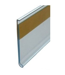 Scanstrip - Flat Adhesive Clear