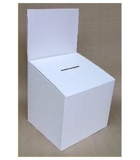 Entry or Suggestion Box - Cardboard: Medium