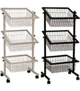 Impulse Basket Stand - 3 Baskets