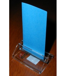 Card Holder - Small - Clear Acrylic