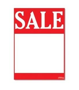 Sale Tickets: A4 Portrait - 'SALE'
