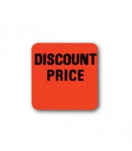 Adhesive Label: DISCOUNT