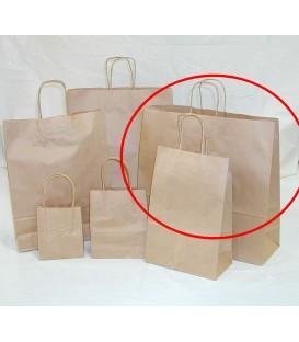 Brown - Extra Large Paper Carry Bag 'Landscape' -
