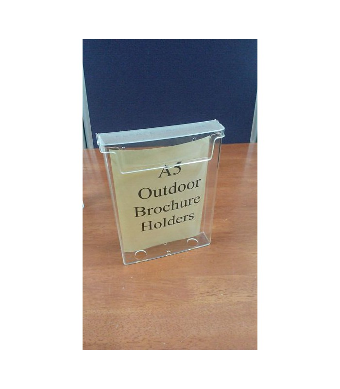 Brochure Holder Outdoor Shop Basics
