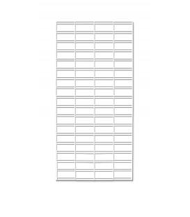 White Slatgrid Panel