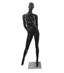 Mannequin - Female Gloss Black M220B