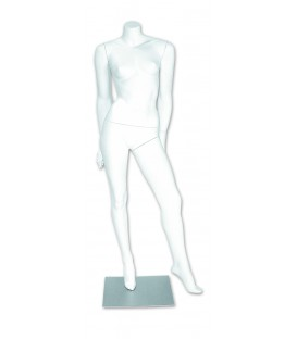 Mannequin - Female Headless White M251W