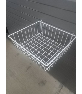 Mesh Basket - W30: White