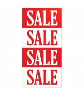 Banner: SALE SALE SALE - Vertical - 4-Sections