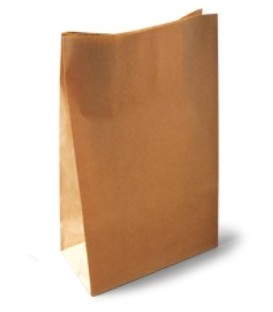 Flat Checkout Bags - Paper - Small