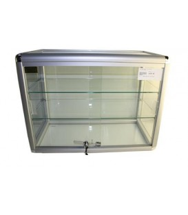 Countertop Showcase with 2 Shelves - 600x300x450mm