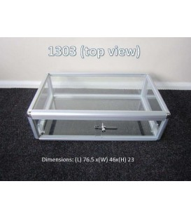 Countertop Showcase - 760x450x225mm
