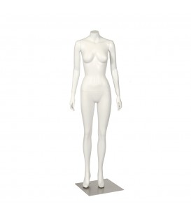 Budget Mannequin - Female 'Headless' - White