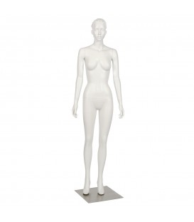 Budget Mannequin - Female 'with Head' - White