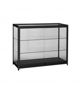 Showcase - Counter - 1200W x 500mmD - Black - LED