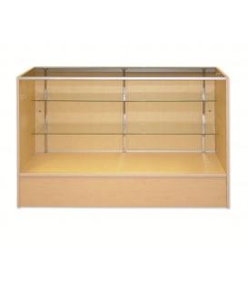 Counter - Timber & Glass 1220Wx970Hx450mmD
