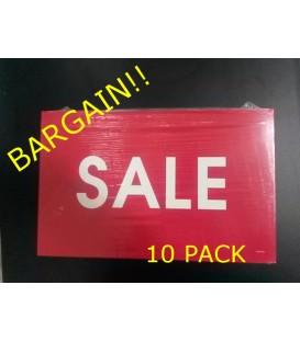 """""""Sale"""" Display Card Pack"""