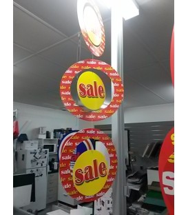 """""""Sale"""" hanging mobile display Style 2"""