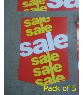 """""""Sale"""" Small Paper Banner"""