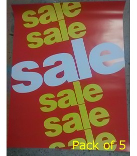 """Sale"" Paper Poster"