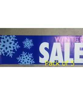 """Winter Sale"" Small Paper Banner"
