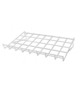 Slatgrid Wire Shelf White