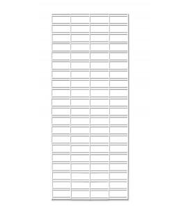 1800 Slatgrid Panel - White