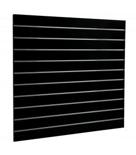 SLATWALL PANEL 1200x1200 BLACK