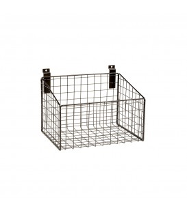 Medium Mesh Basket for Slatwall