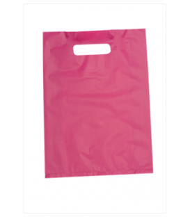 Small Pink Boutique Bags - HDPE