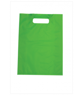 Small Lime Boutique Bags - HDPE