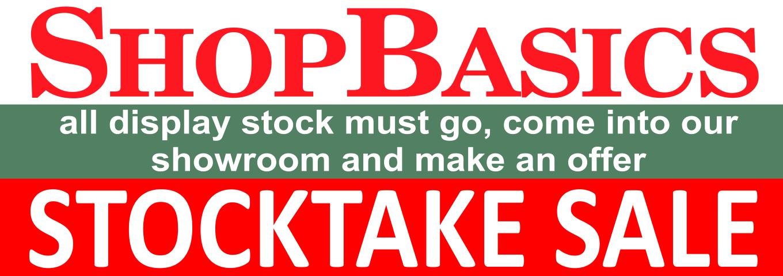 stocktake sale